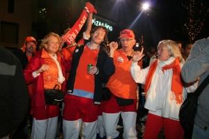 Holland fans