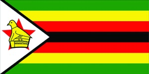 Current Zimbabwean flag