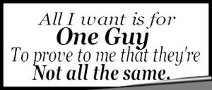 One guy