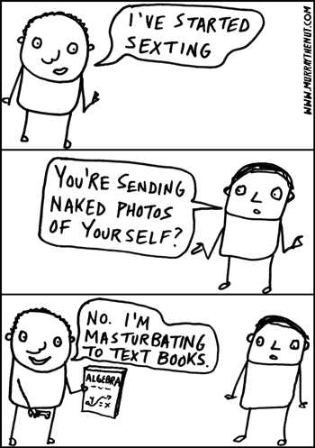sexting cartoon