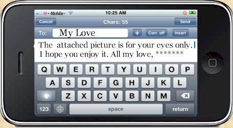 sexting iPhone