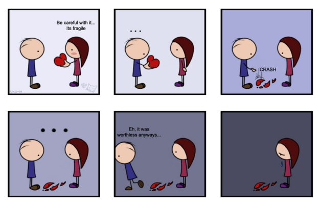 unrequited love cartoon