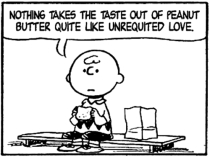 unrequited love charlie brown