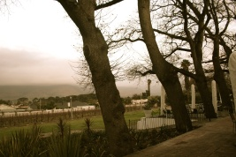 Paarl, eerie yet beautiful.