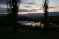Drakensberg sunset.
