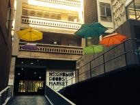 Braamfontein umbrellas